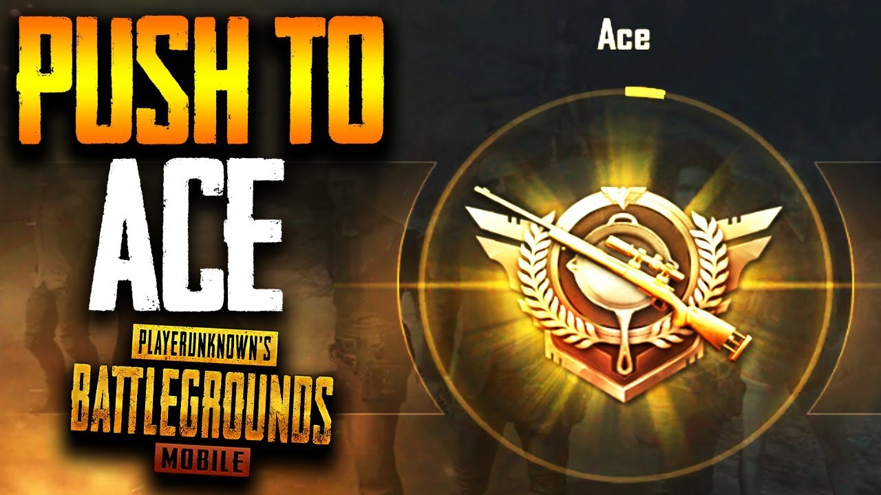 I will push your pubg mobile rank to ace