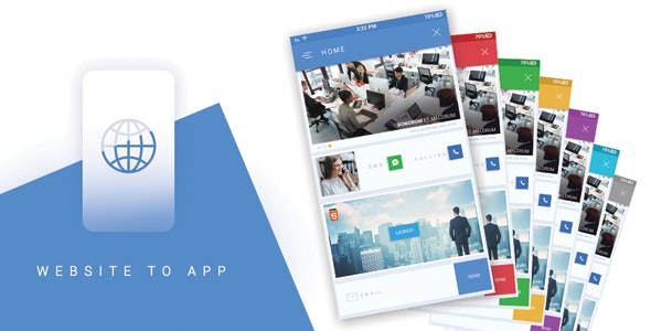 I will convert website to android app and IOS app