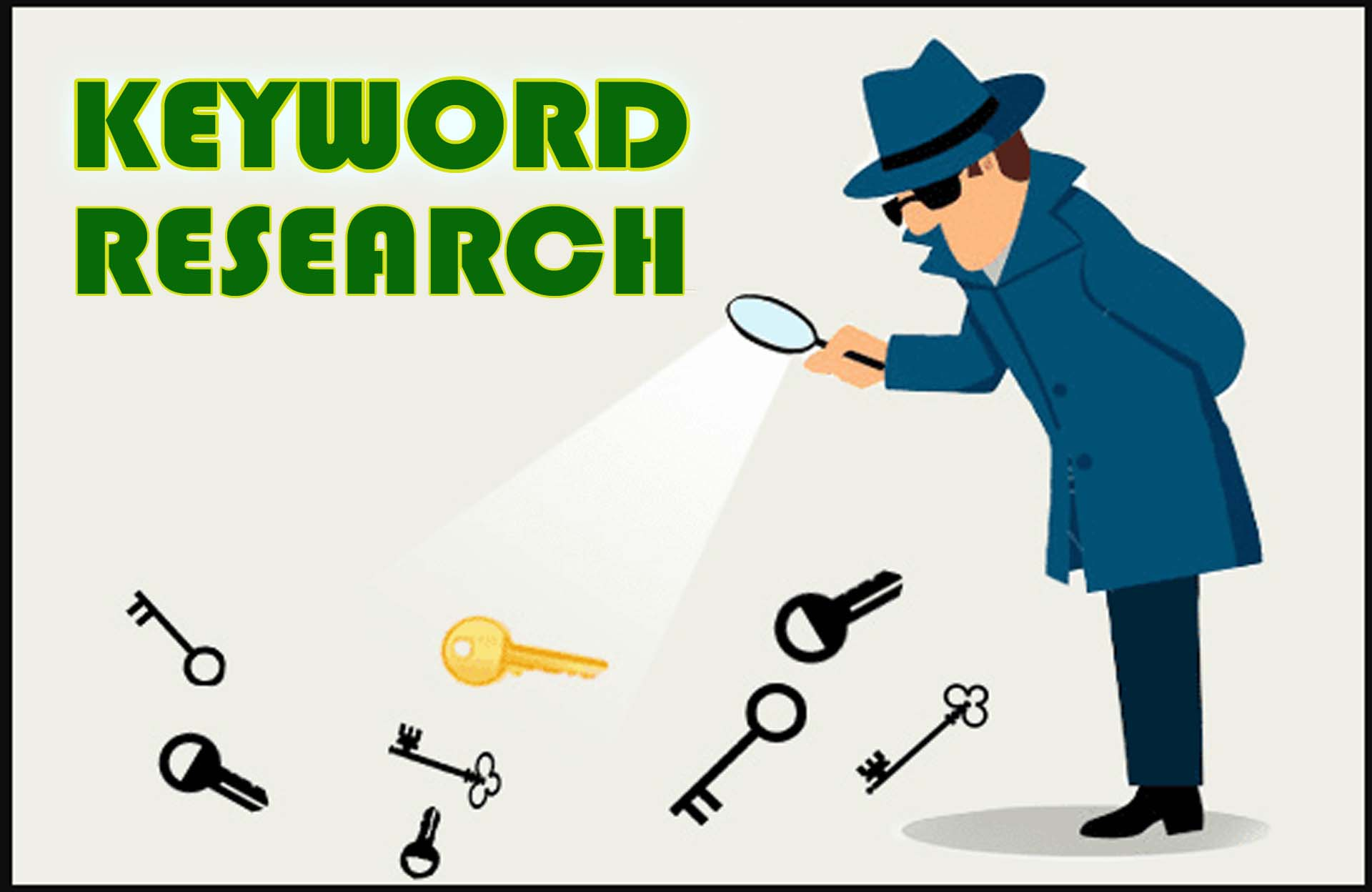 I will seo keyword research,  competitor analysis