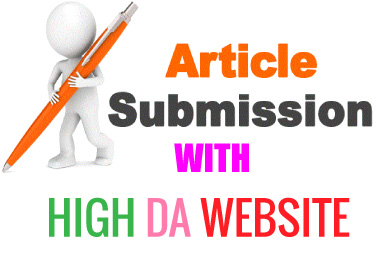 I can do 15 article submission on high DA website
