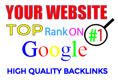 Skyrocket your website Google Rankings with my Best SEO backlinks service