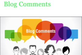 I will do 100 dofollow blog comments in high da domains
