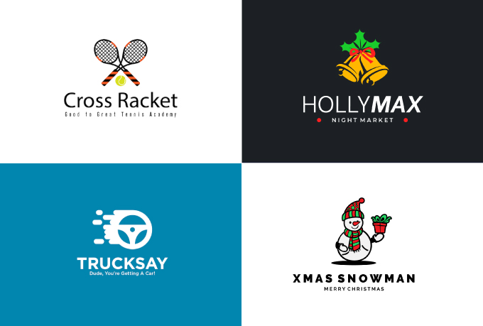 3-4 Concepts MINIMALISTIC and UNIQUE business logo within 24hours