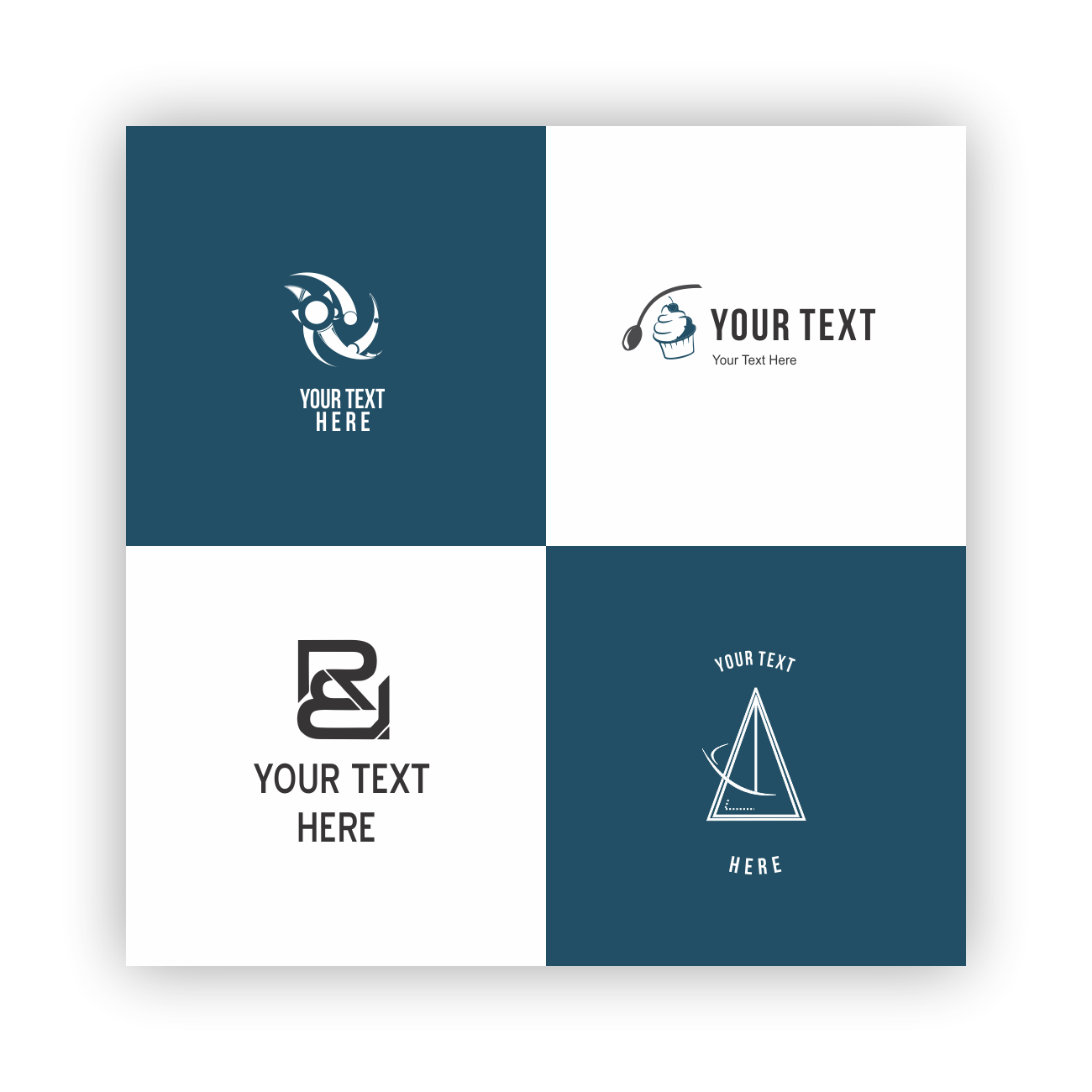 attractive simple logo design , minimalist and unlimited revisions