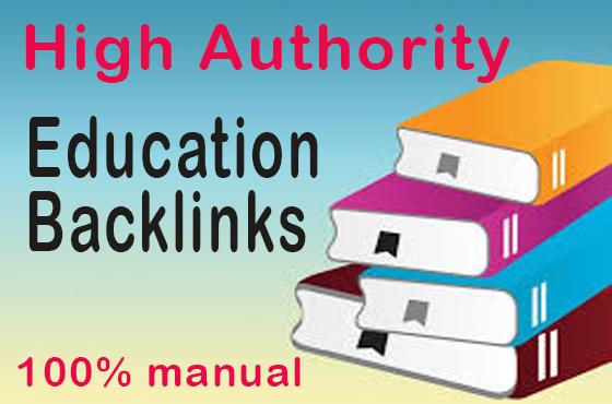 I will Create 1000 high da premium quality backlinks on edu gov