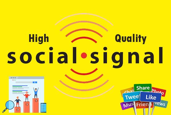 Best Google Rank 2500+ HQ SEO Social Signals