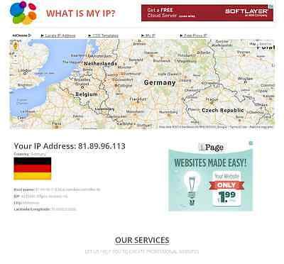 What is my IP Address Online Tool Website Script