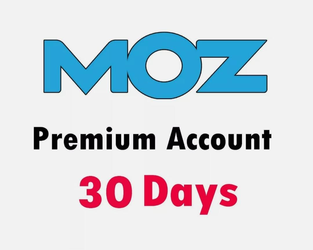 Moz Pro Premium Account 30 Days Powerful SEO Keyword Research Tool