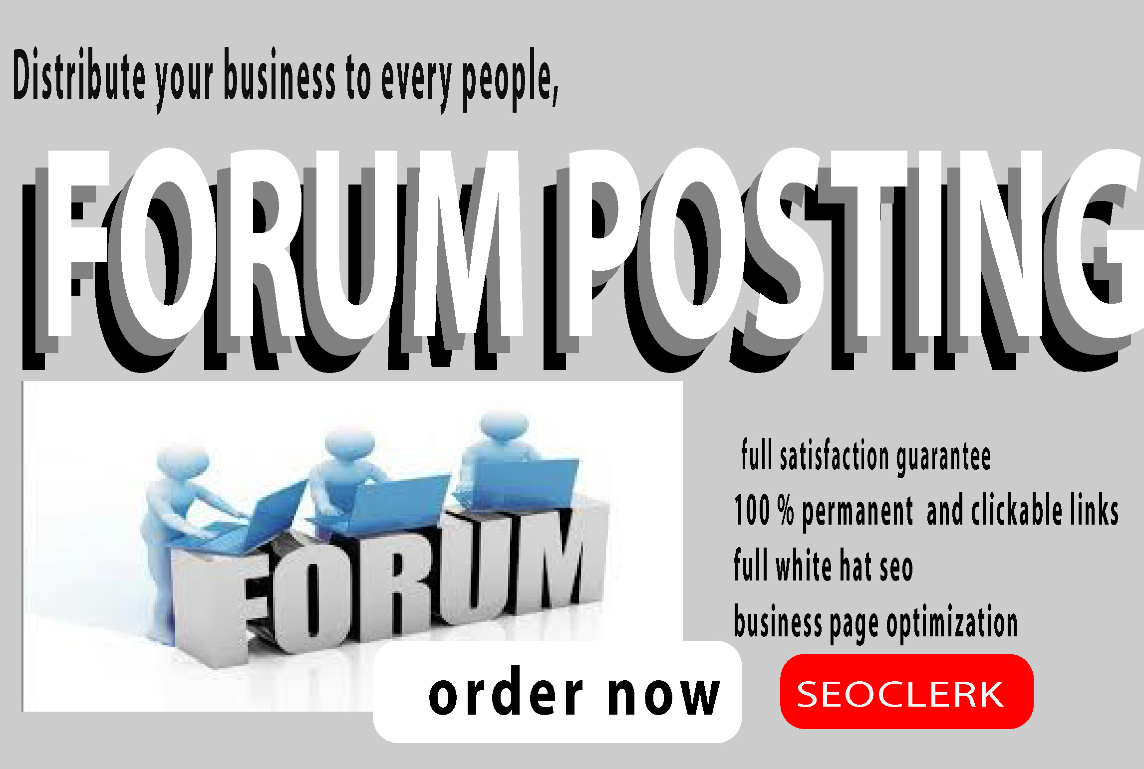 I will do 60 forum posting in top forum posting site for your website