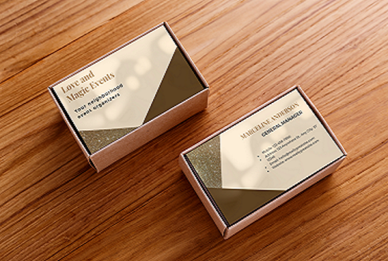 I will design business cards, letterhead and invitation cards