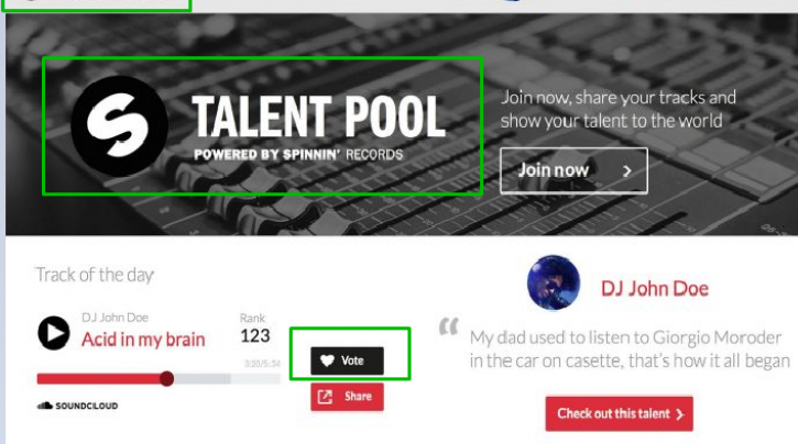 Guaranteed You Top One Track Rank Your Spinnin Records Talent Pool Votes