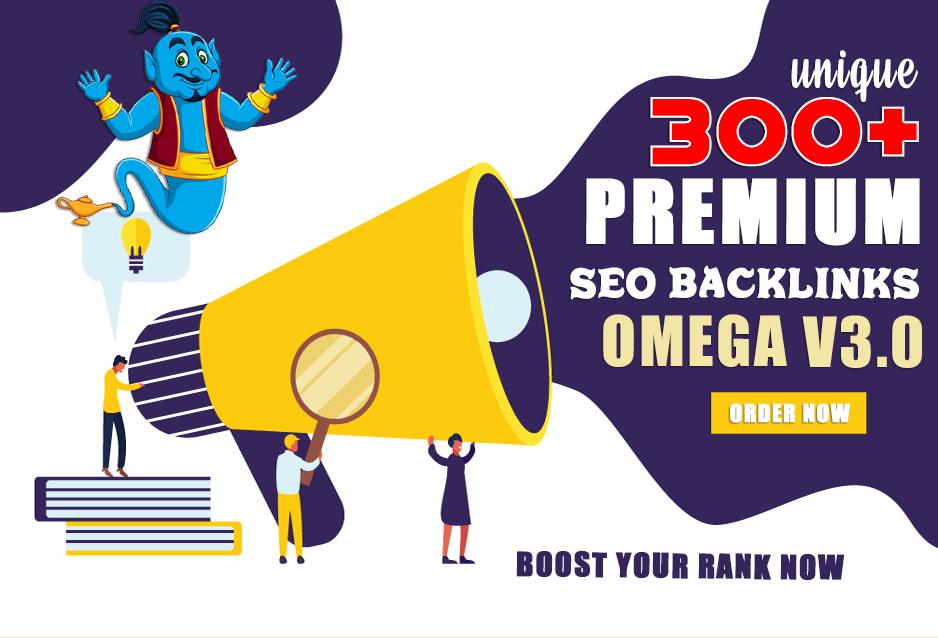 300+ OMEGA V3.0 Turbo Booster SEO Backlinks for Ranking