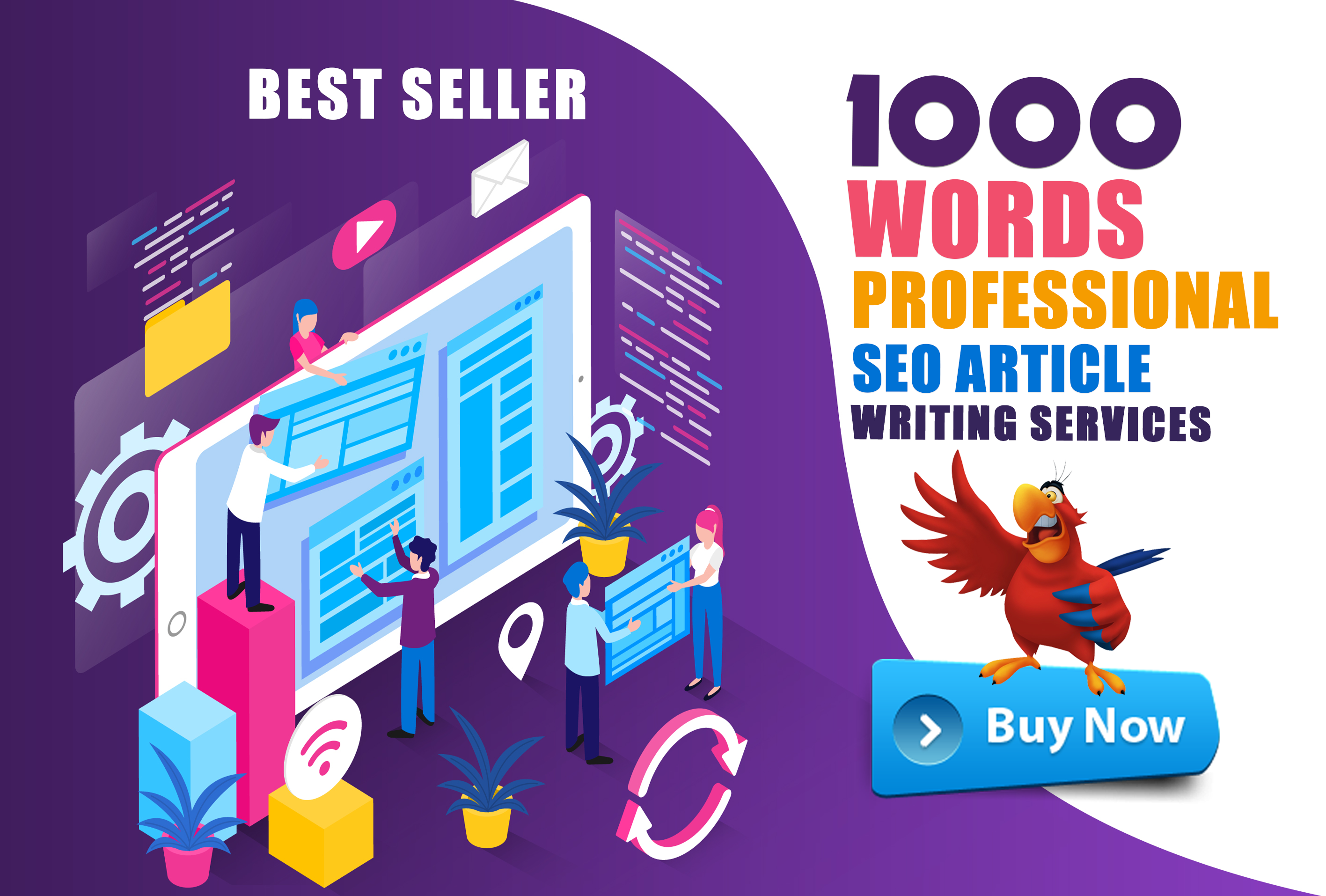 Write Quality 1000 Words Of Attractive SEO Articles