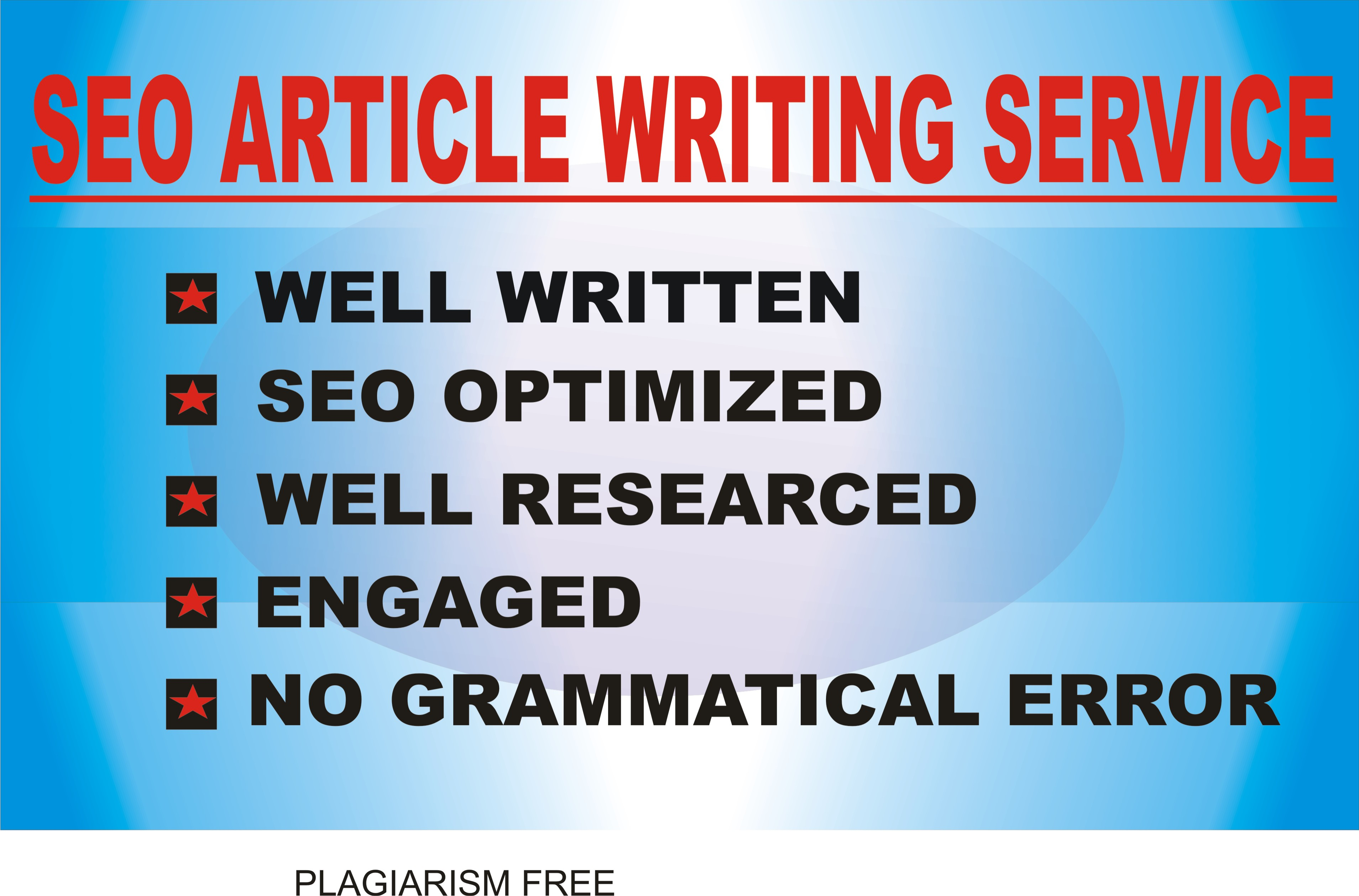 2 X 500 WORDS ARTICLE WRITING SERVICE