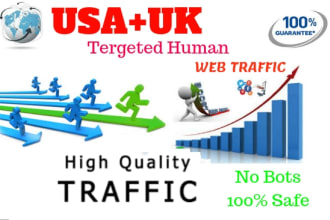 1 million web traffic to your website