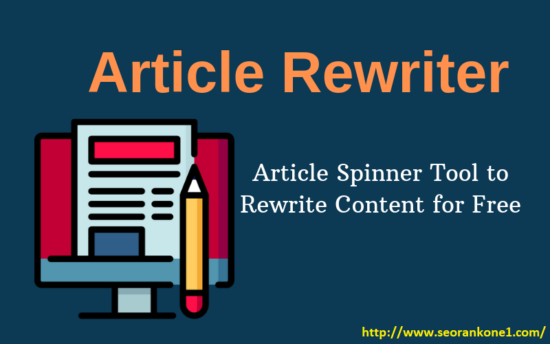 I will check your article for plagiarism and rewrite original copy