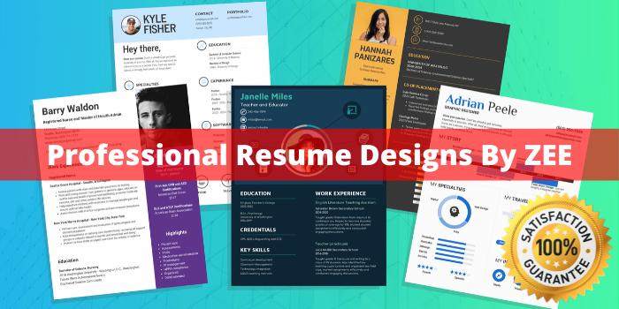 Design you a custom resume Professionally