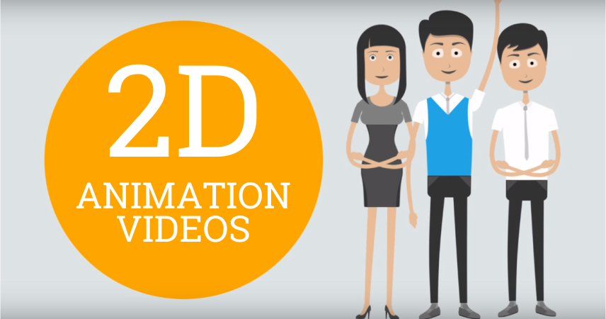 create 2d animation or explainer video fully customized