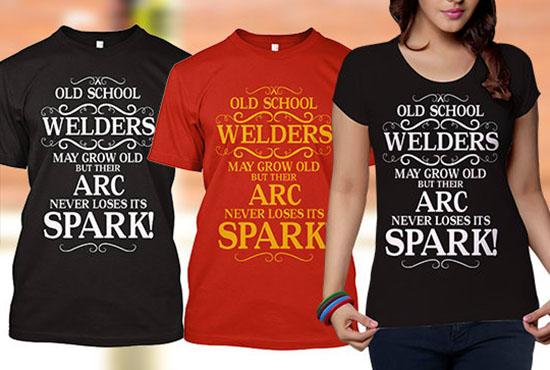 I will do custom t shirt design for you