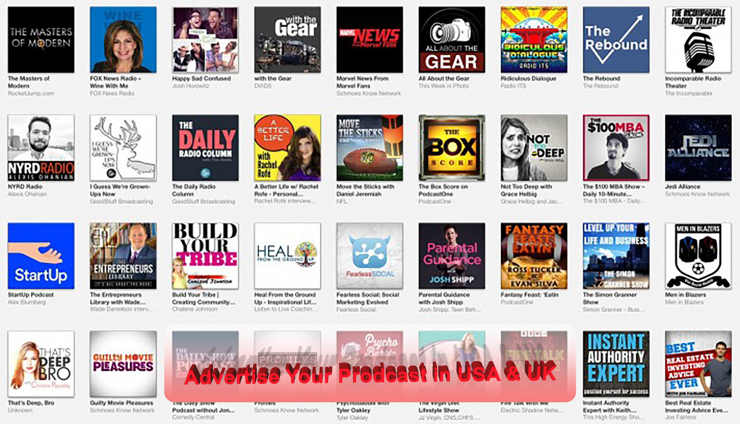 I will podcast promotion and increase your downloads