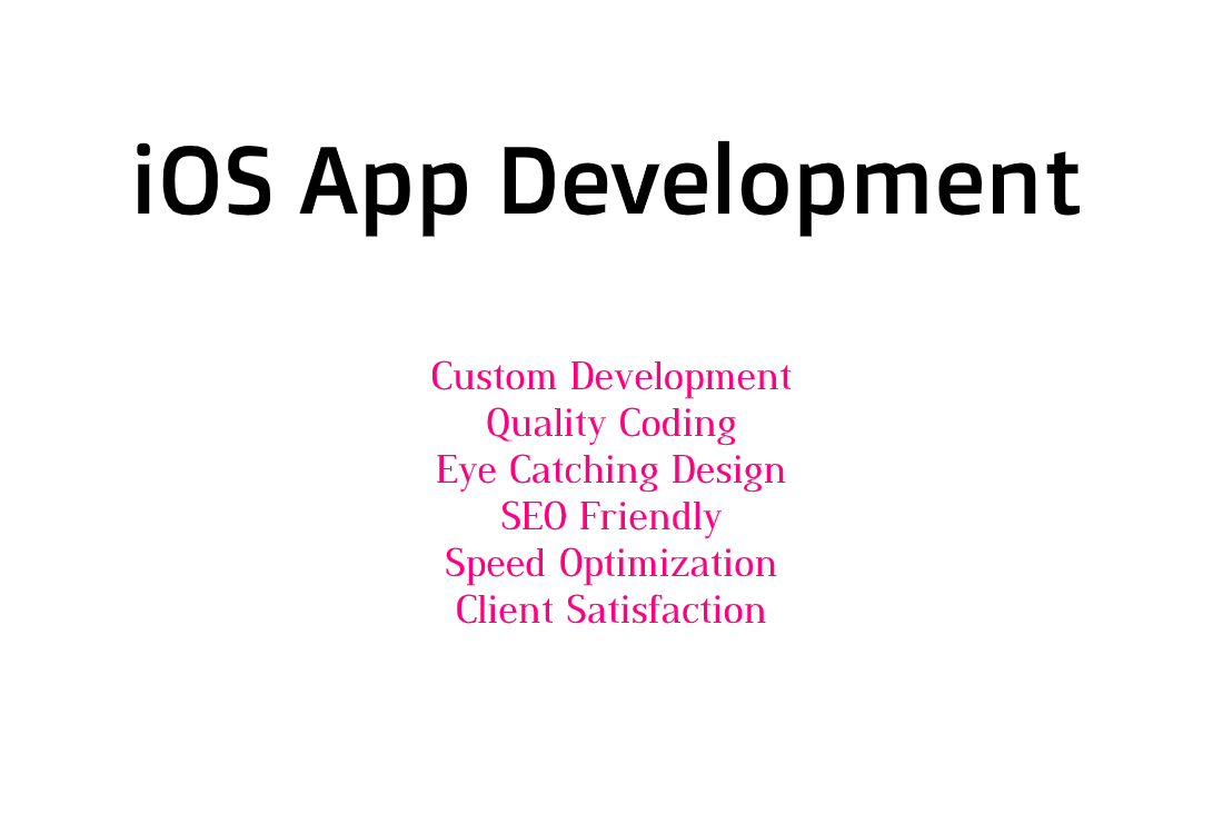 I will make a custom iOS App Development
