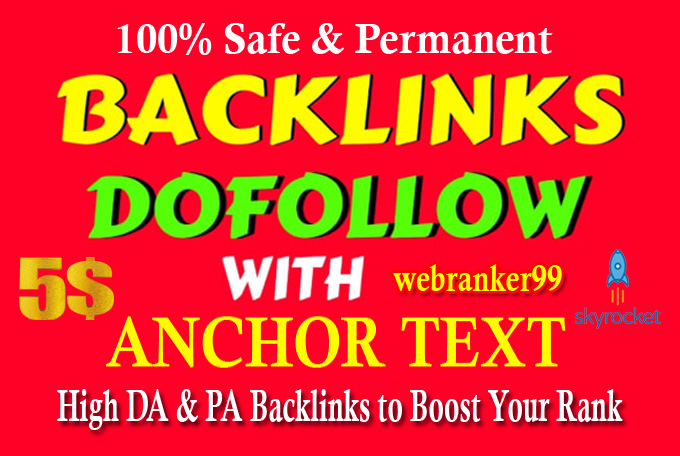 I will Manually Create 50 Dofollow High Da 50 to 95 Highly Authorized Profile Backlinks