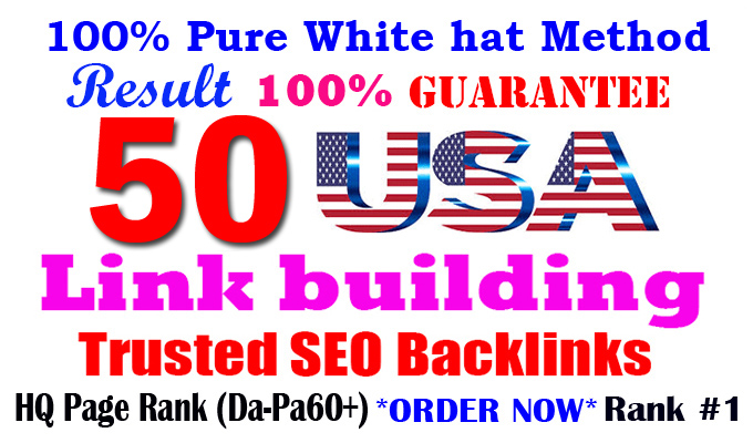 I will boost website ranking with high 50 USA Pr9 Safe dofollow profile link building seo backlinks
