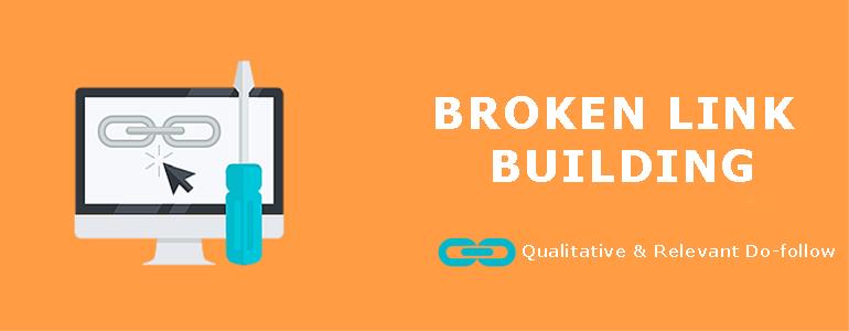 I will do broken link building through outreaching