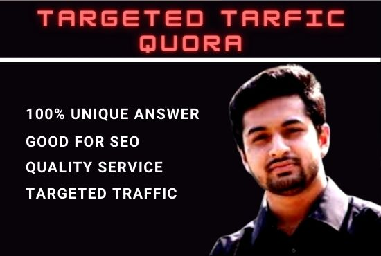 I Will Bring Niche Related Targeted Traffic with 10 Quora Answers