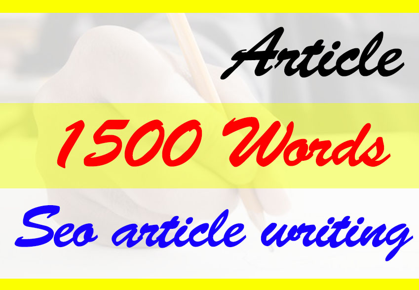 I will seo article writing,  content writing,  blog writing