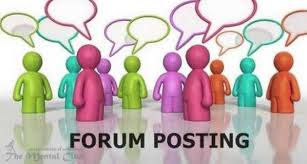 I can do 40 general forum post for your business
