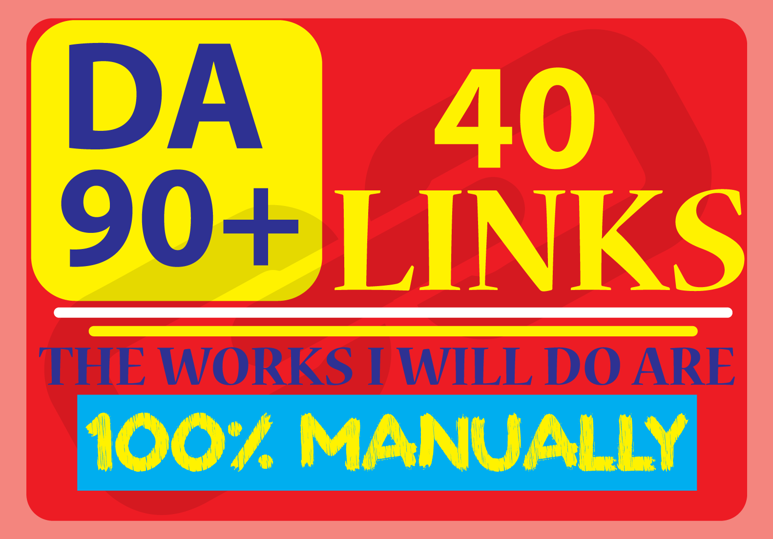 DA 90+ Manually Do 40 HQ Profile Backlinks For Boosting Google Ranking