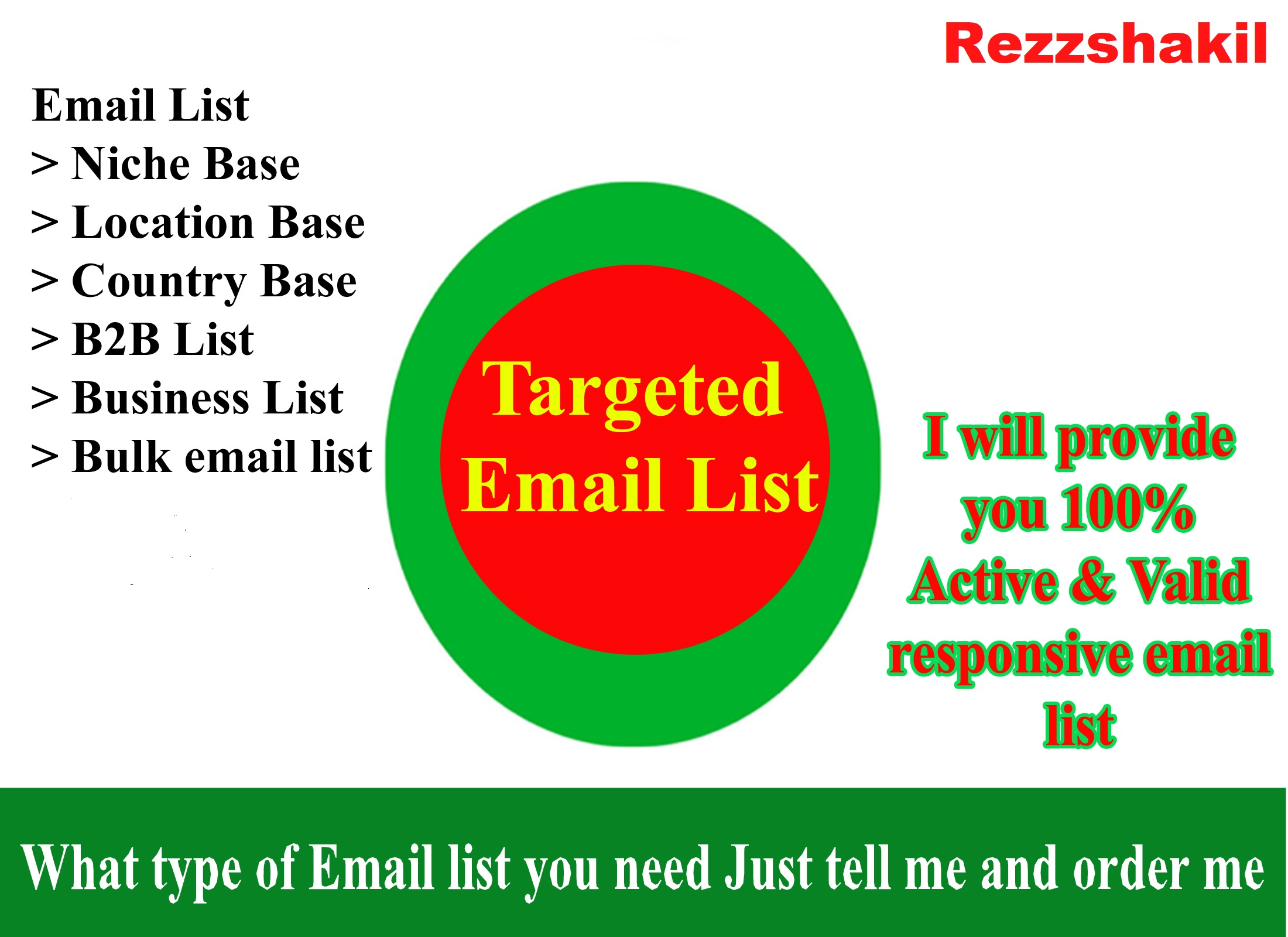 I will do data scraping and collecting 10k niche targeted email addresses
