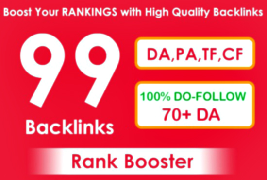 Add 99 edu backlinks to get google top ranking