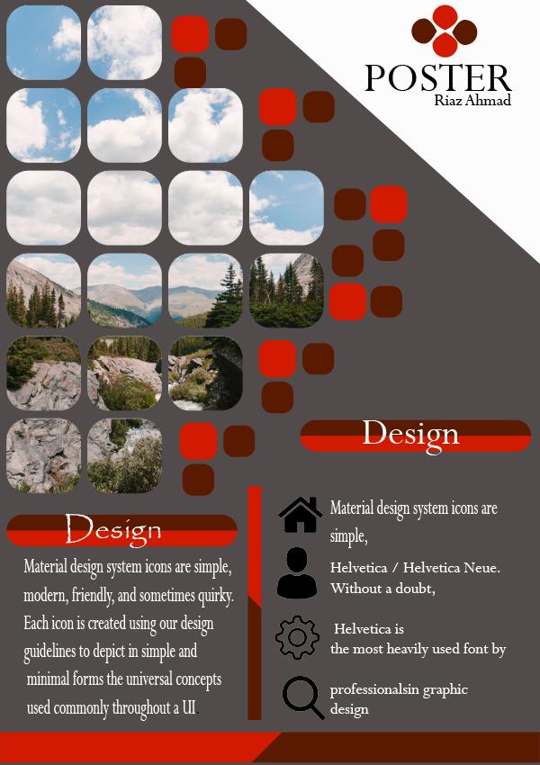 I will design poster,flyer,leaflet,postcard within 24 hours