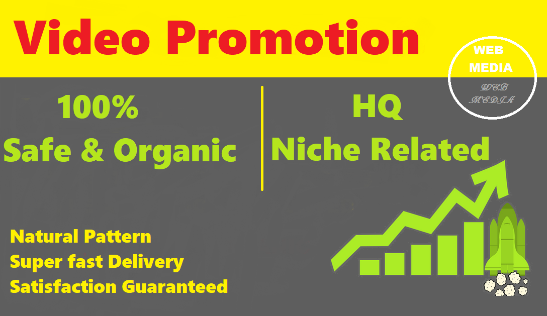 Organic and Natural Pattern YouTube Video Promotion