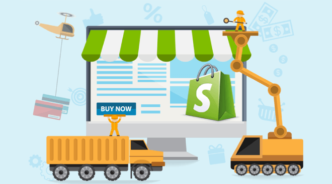 create your shopify dropshipping store with free month