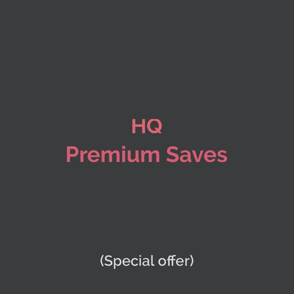 Premium Saves to your track,  old and active accounts