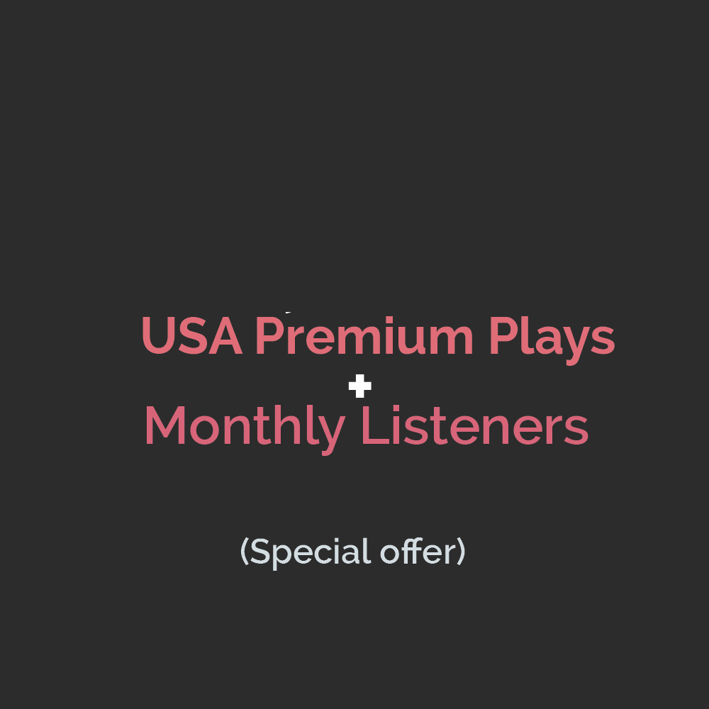 Premium Streams + Monthly Listeners MONETIZED