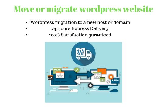 wordpress migration in just 24 hours