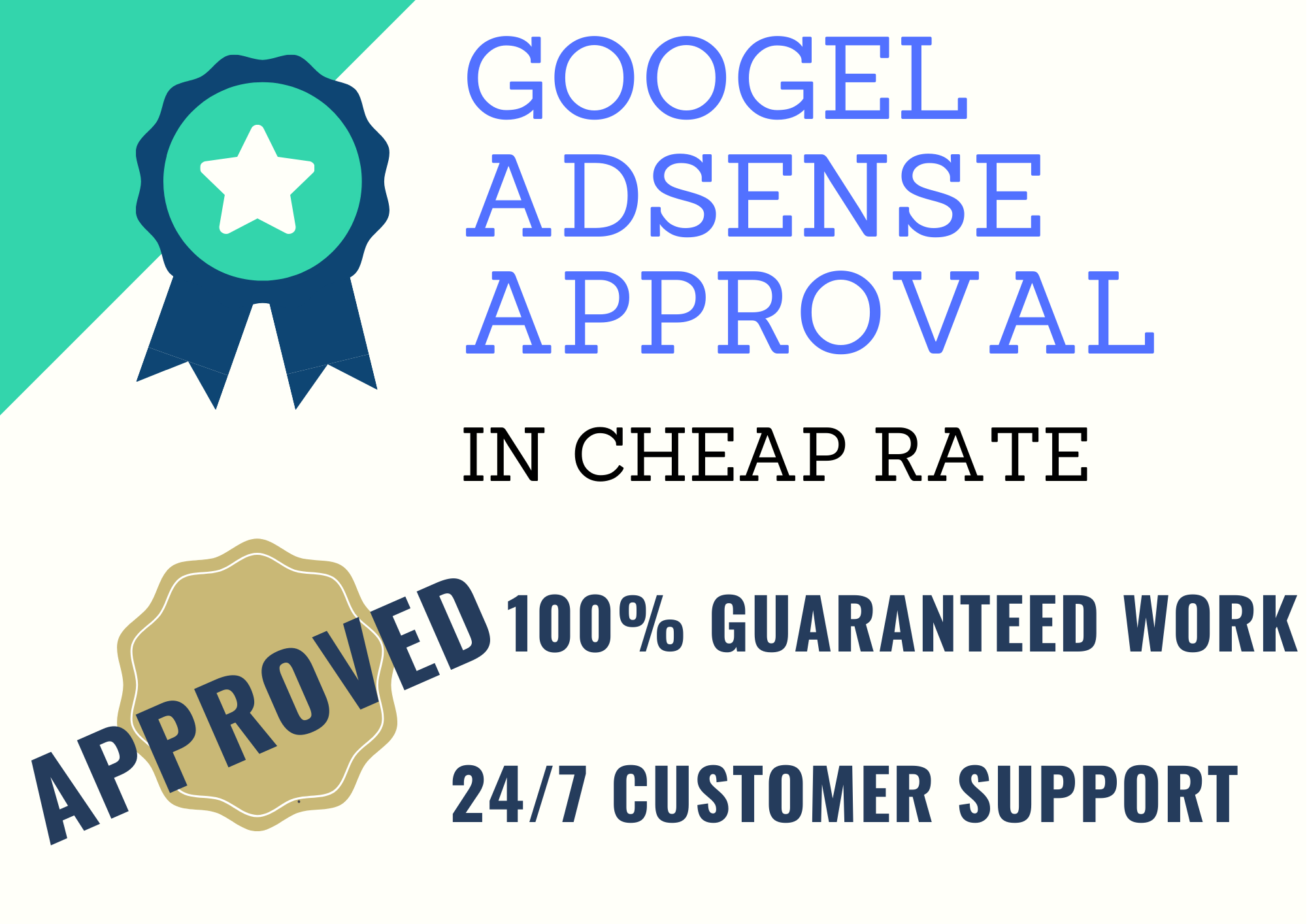 i will help you in google adsense approval