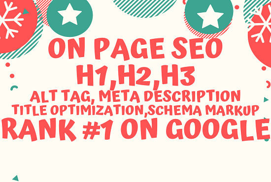 I will do complete onpage SEO and technical seo of your wordpress website