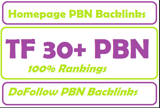 Do 3 tf 30+ homepage pbn backlinks
