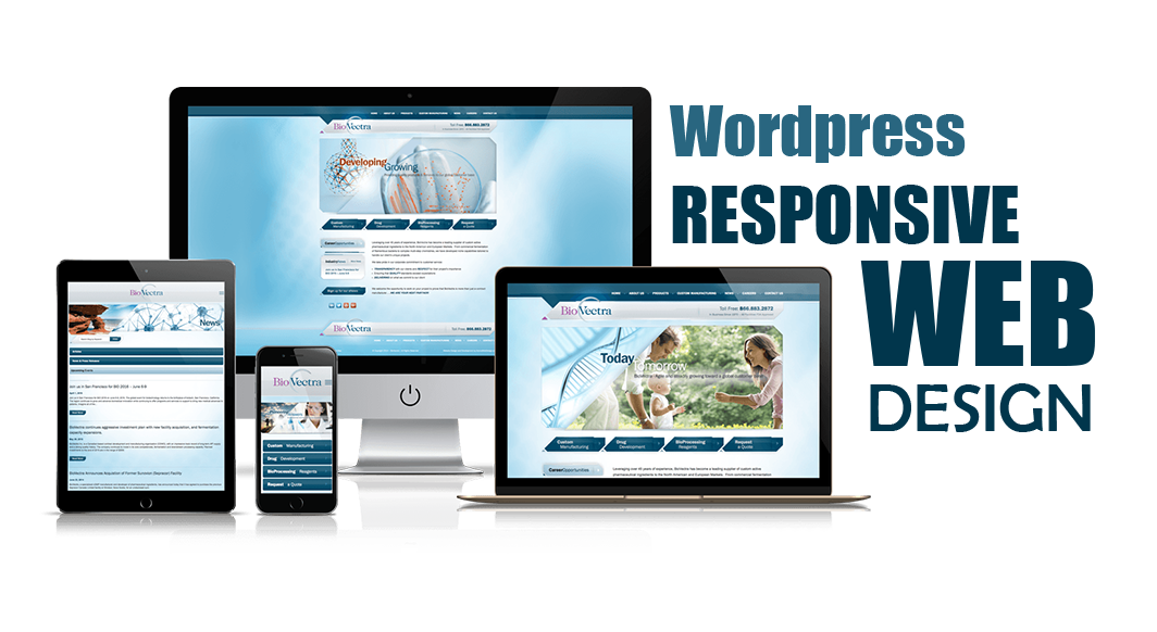 Create your business WordPress website