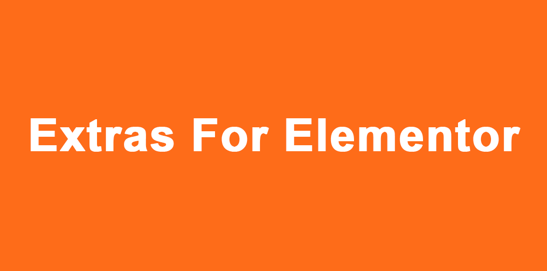 Install Extras For Elementor WordPress Plugin on your website