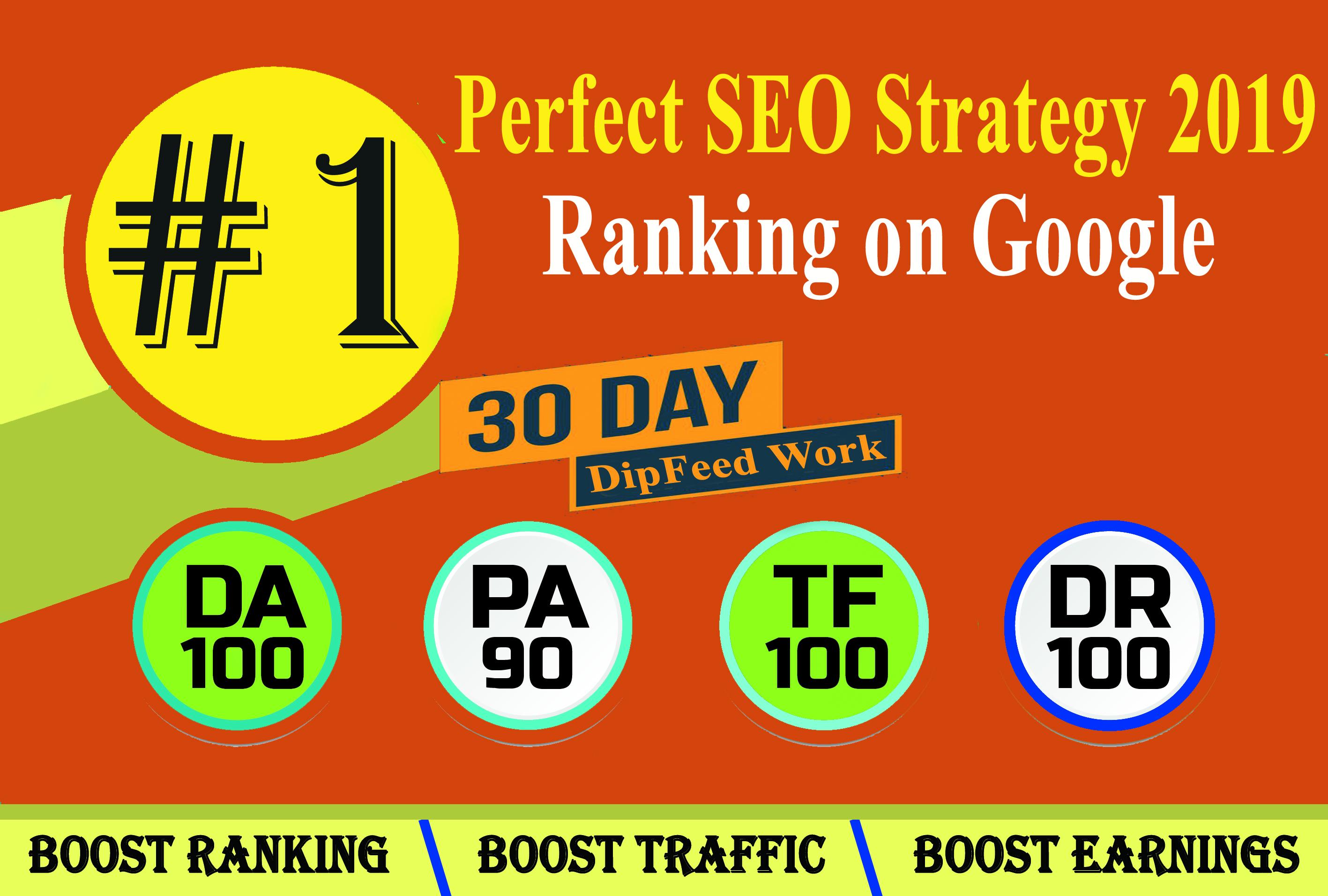 I will rank your website on google, 30 days high PR SEO backlinks