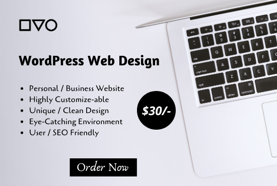 I will develop stunning wordpress website