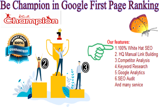 Bullet Proof GOOGLE First page Ranking Service
