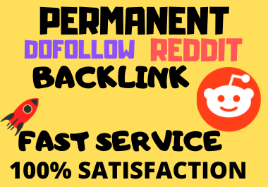 Popular Niche Related 10 Sub-Reddit High Quality Backlinks For Your website