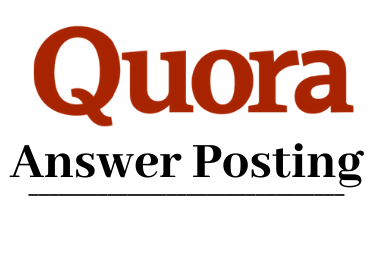 Give You Niche Related 15 Quora Answer for Targeted Traffic